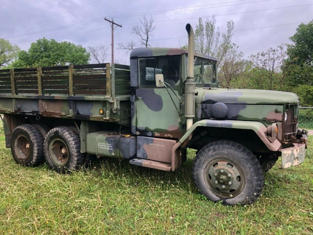 extra parts 1970 AM General M35a2 C Duece and a half 6×6 military truck