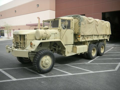 Fully Operational 1971 AM General Reo Cargo Truck 5 Ton 6×6 truck for sale