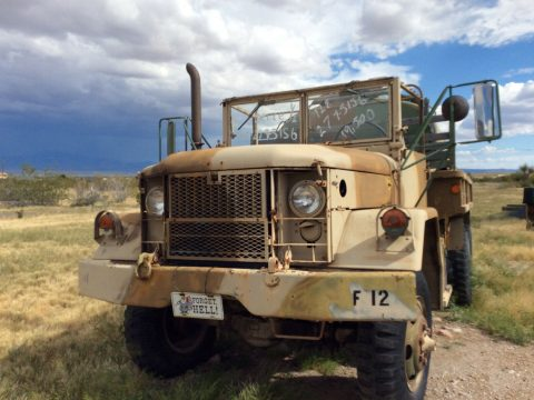 low miles 1970 AM General M35 A2 Deuce & a half truck for sale