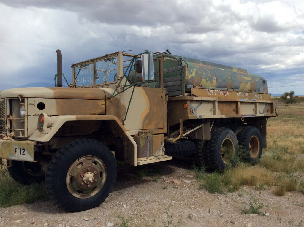 low miles 1970 AM General M35 A2 Deuce & a half truck
