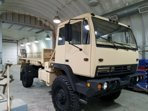 clean 1998 Stewart & Stevenson LMTV M 1078 military truck for sale