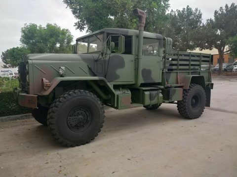 Custom Bobbed 1991 BMY Harsco 5 ton m932a2 military truck for sale