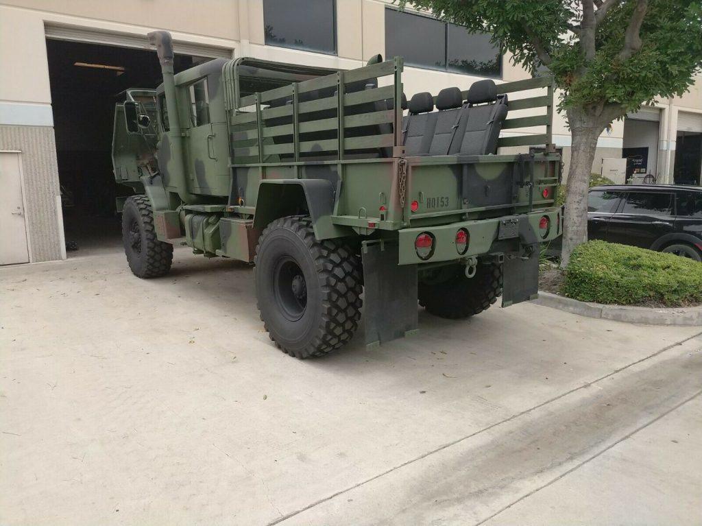 Custom Bobbed 1991 BMY Harsco 5 ton m932a2 military truck