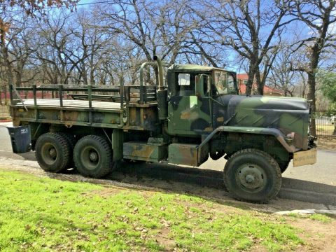 great running 1989 AM General M923 5 TON Cargo truck for sale