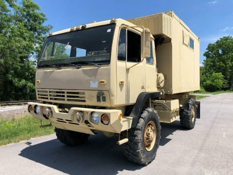 great running 2000 Stewart & Stevenson M1079a1 LMTV 4X4 Van military Truck for sale