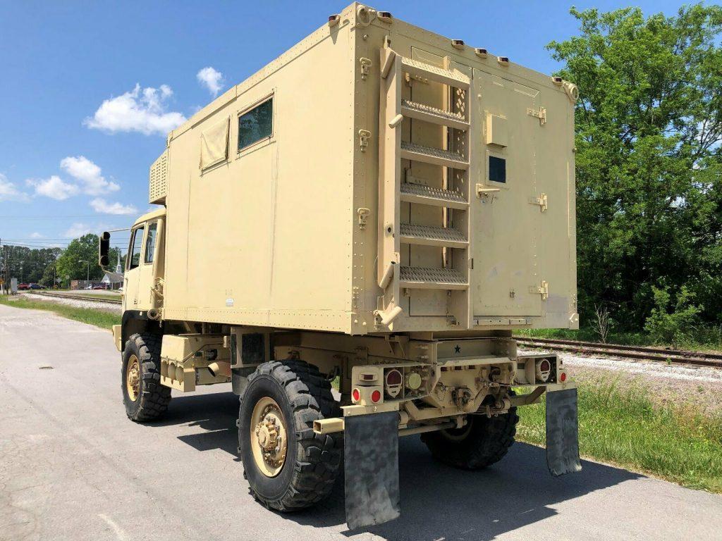 great running 2000 Stewart & Stevenson M1079a1 LMTV 4X4 Van military Truck
