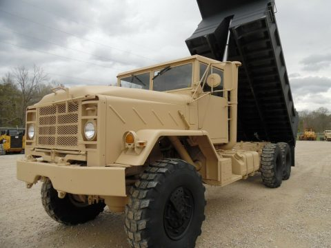 great shape 1990 BMY M927a2 dump Truck for sale
