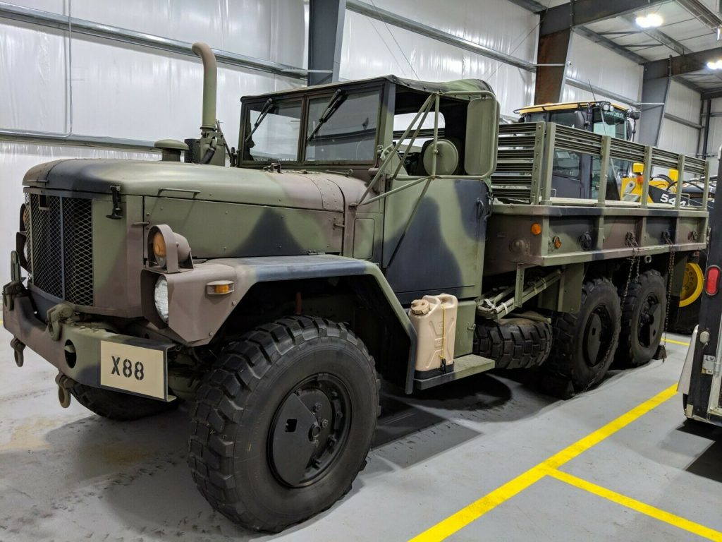 great shape 1993 AM General M35a3 Deuce and 1/2 military truck