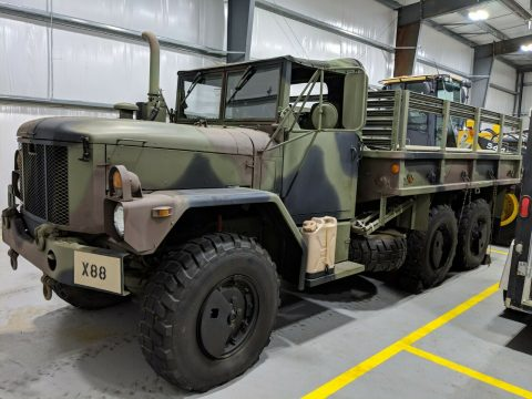 great shape 1993 AM General M35a3 Deuce and 1/2 military truck for sale