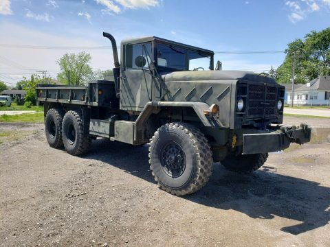low miles 1985 AM General M923a1 Military truck for sale