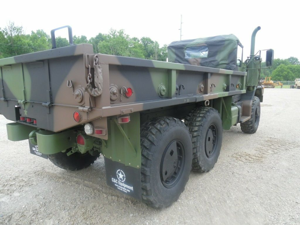 low miles 1993 AM General M35a3 Military truck