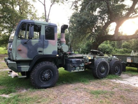 low miles 1998 Stewart & Stevenson military truck for sale