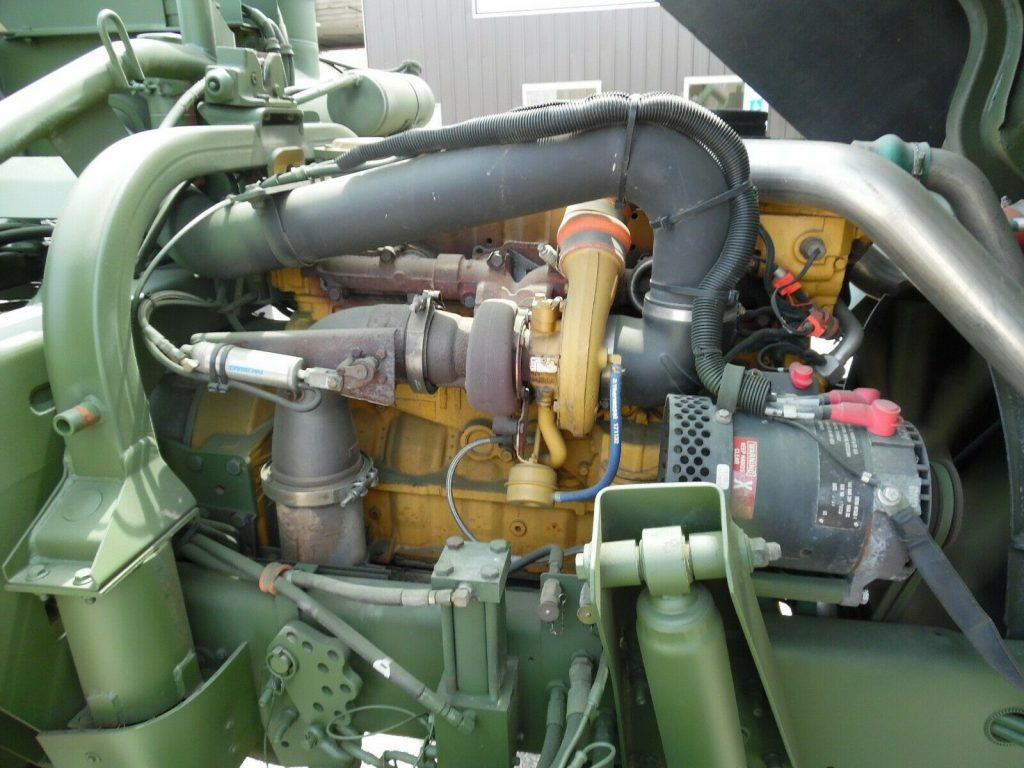 nice shape 2001 Stewart & Stevenson MTV M1088 A1 military Truck