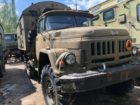solid 1987 ZIL 131 military truck for sale