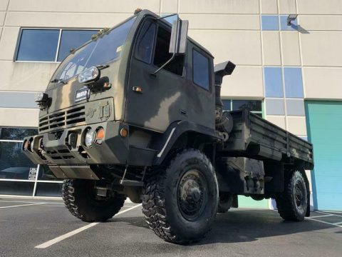 very clean 1994 Stewart & Stevenson M1078 military truck for sale