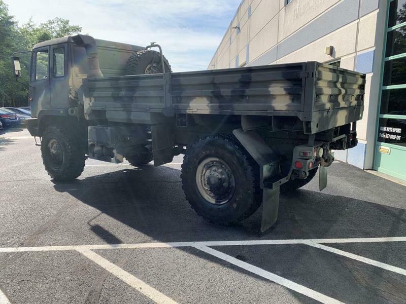 very clean 1994 Stewart & Stevenson M1078 military truck