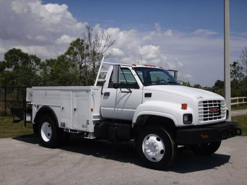 everything works 2000 GMC C7500 Topkick Service Utility Truck for sale
