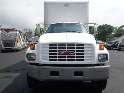 great shape 2000 GMC C6500 BOX Truck for sale