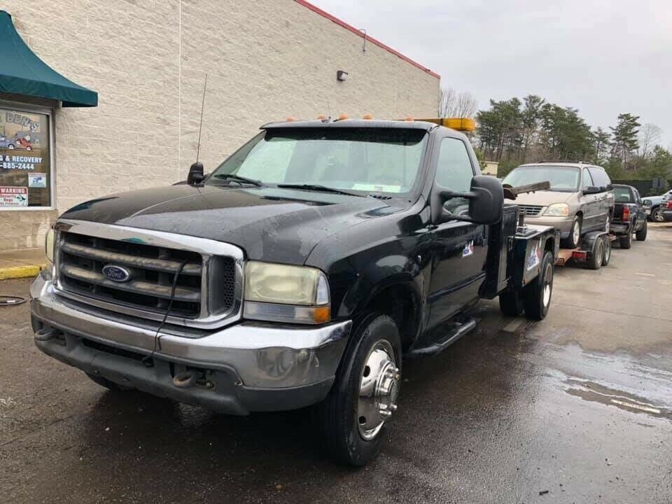 great working 2000 Ford F-450 truck
