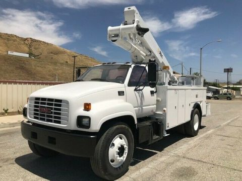 loaded 2000 GMC C7500 truck for sale
