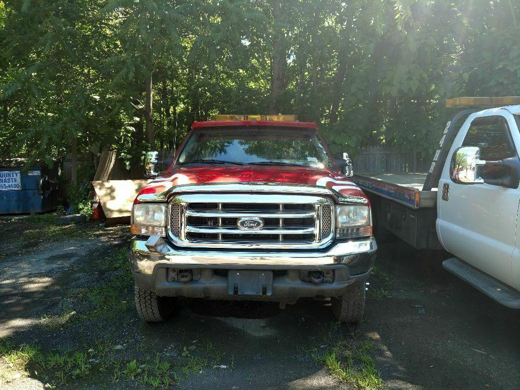 needs TLC 2000 Ford F-550 truck