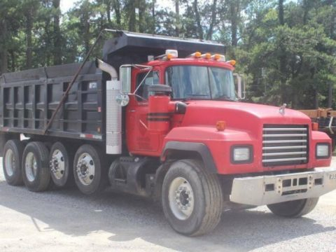 quad axle 2000 Mack RD688S truck for sale