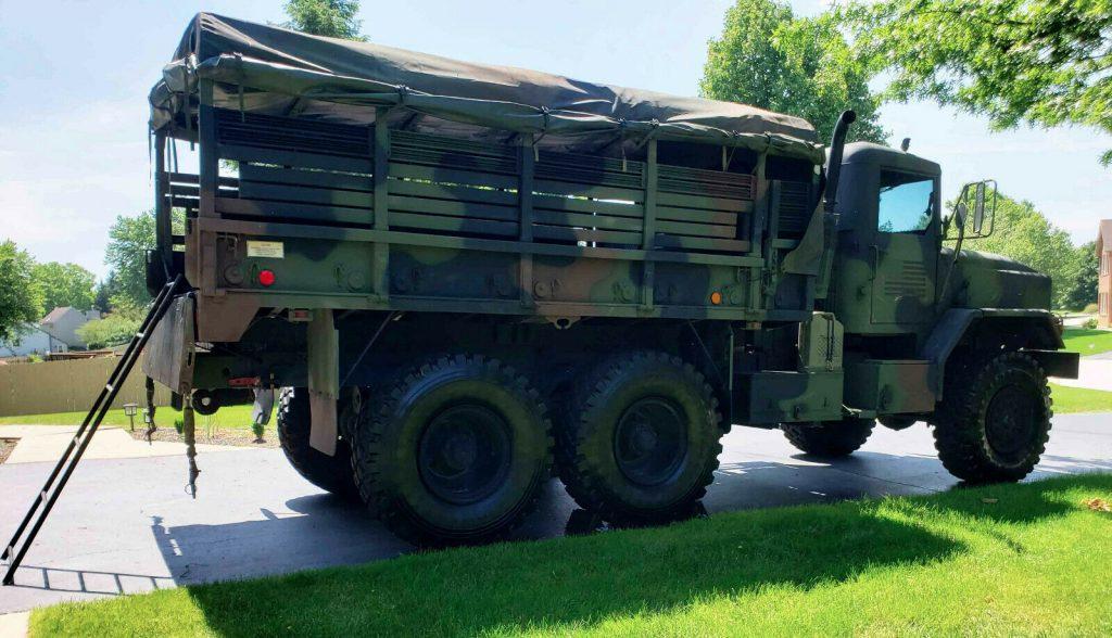 great shape 1986 AM General M923 M923 6X6 truck