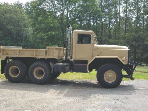 many upgrades 1990 BMY 931a2 6X6 Military PLOW TRUCK for sale