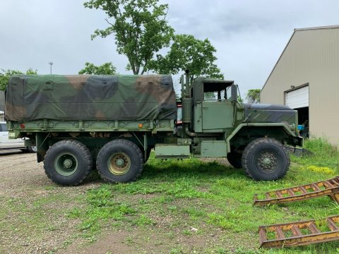 solid 1991 BMY M923a2 Cargo Troop Deuce and Half truck for sale