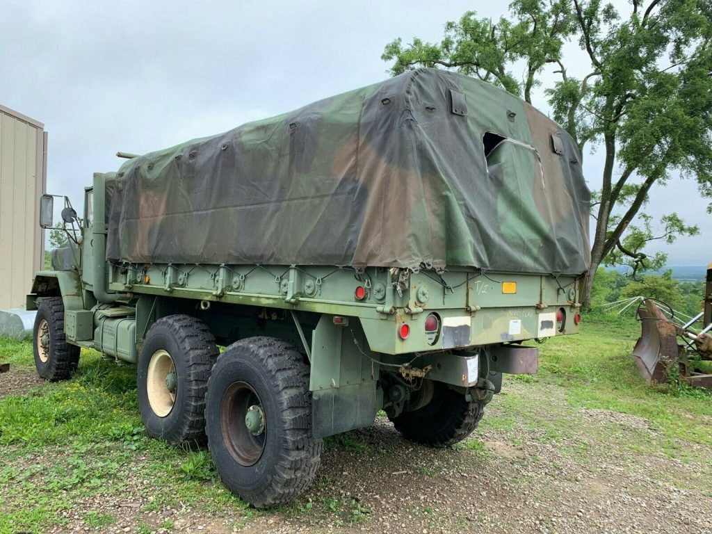 solid 1991 BMY M923a2 Cargo Troop Deuce and Half truck