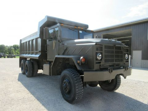 very nice 1990 BMY M927a2 Military dump Truck for sale