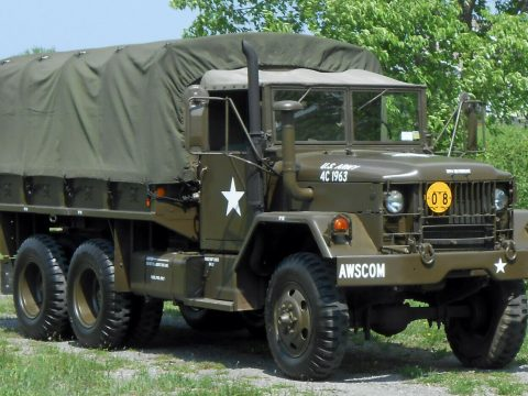 clean 1971 AM General M35a2 truck for sale