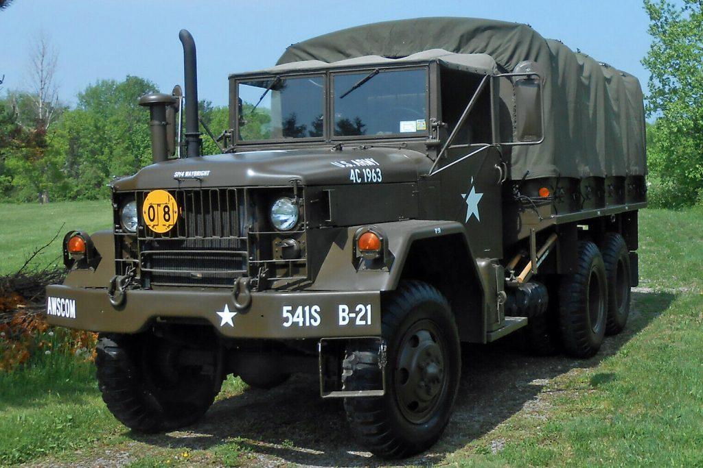 clean 1971 AM General M35a2 truck