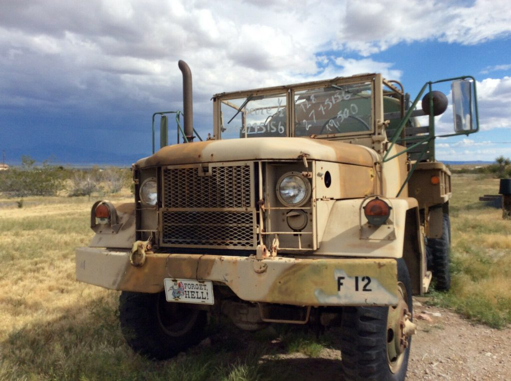 low miles 1970 AM General M35 A2 truck