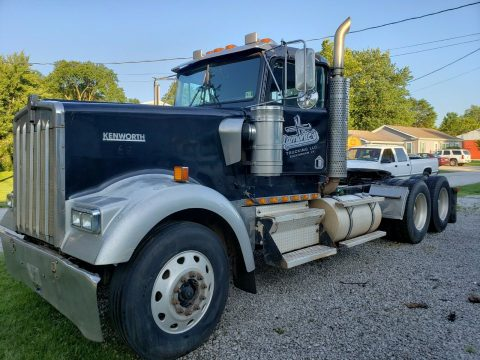 needs TLC 2001 Kenworth W900l Daycab Semi Truck for sale
