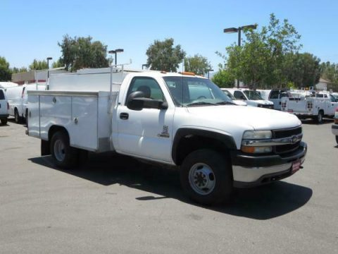 solid 2001 Chevrolet C3500 DSL 4X4 truck for sale