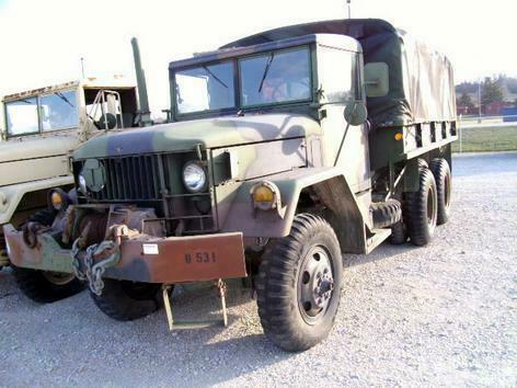 Vintage 1967 Kaiser 6X6 Jeep Truck for sale
