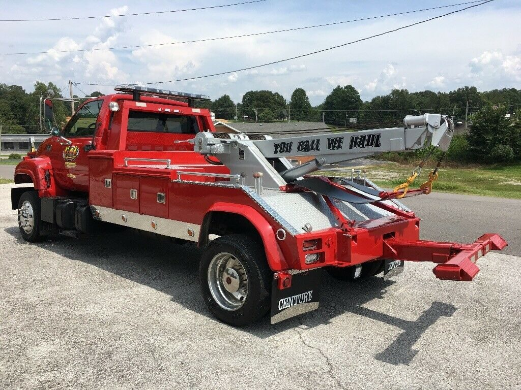 well equipped 2001 Chevrolet C6500 Wrecker tow truck