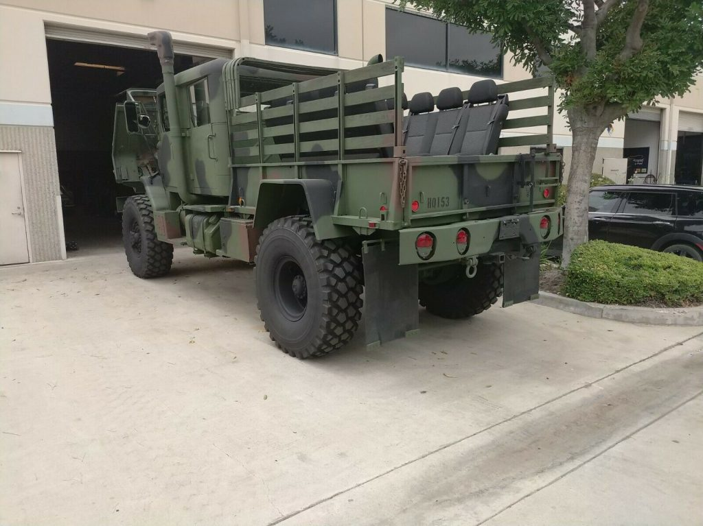 custom 1991 BMY bobbed military truck