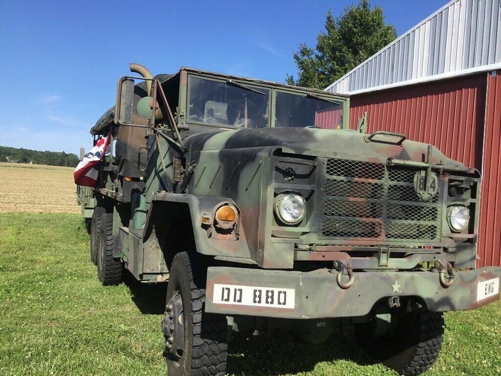 garaged 1984 AM General 5 ton Troop Truck