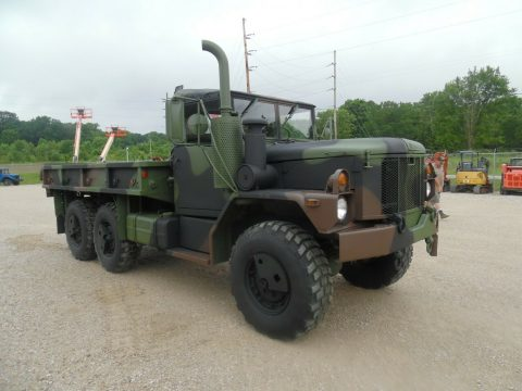 low miles 1993 AM General M35a3 military truck for sale