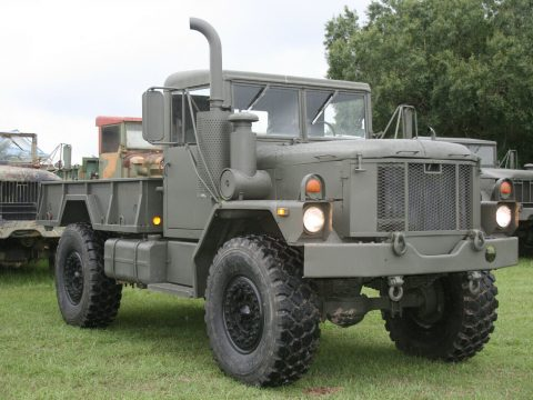 new paint 1978 AM General Deuce AND A HALF truck for sale