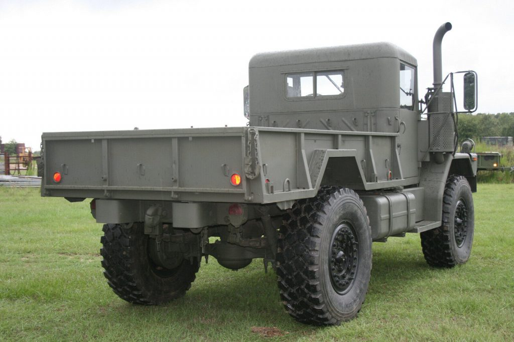 new paint 1978 AM General Deuce AND A HALF truck