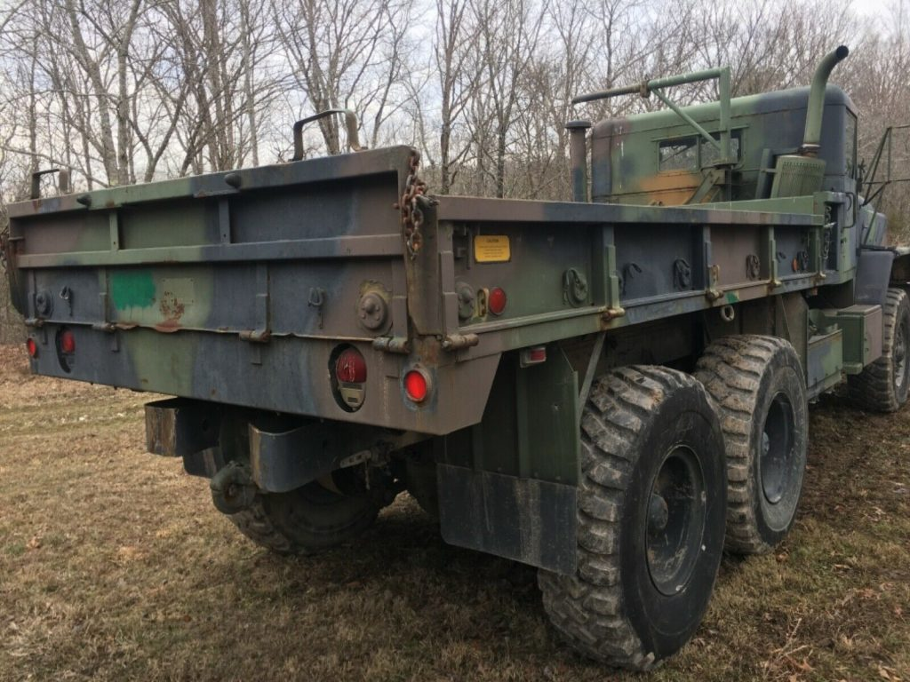 nice running 1992 AM General 5 ton military truck