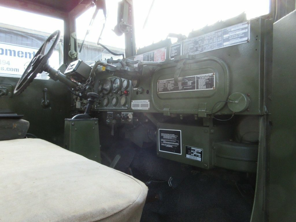 solid 1993 AM General M35a3 Military truck