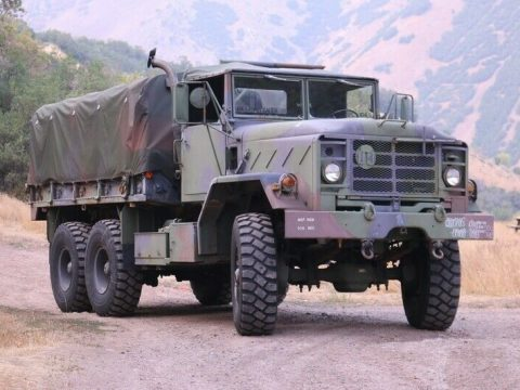 strong 1990 BMY M923a2 5 Ton Truck for sale