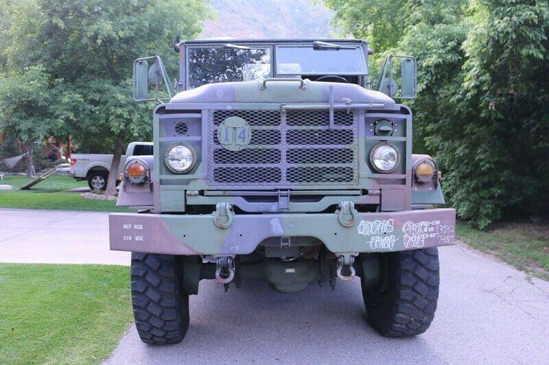 strong 1990 BMY M923a2 5 Ton Truck