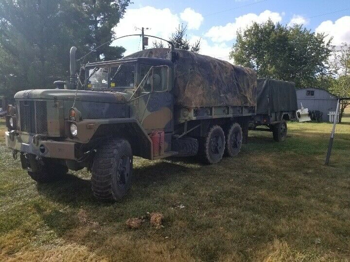 strong running 1993 AM General M35a2 military truck
