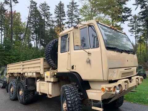 Super Clean 2005 Stewart & Stevenson FMTV M1083 military truck for sale