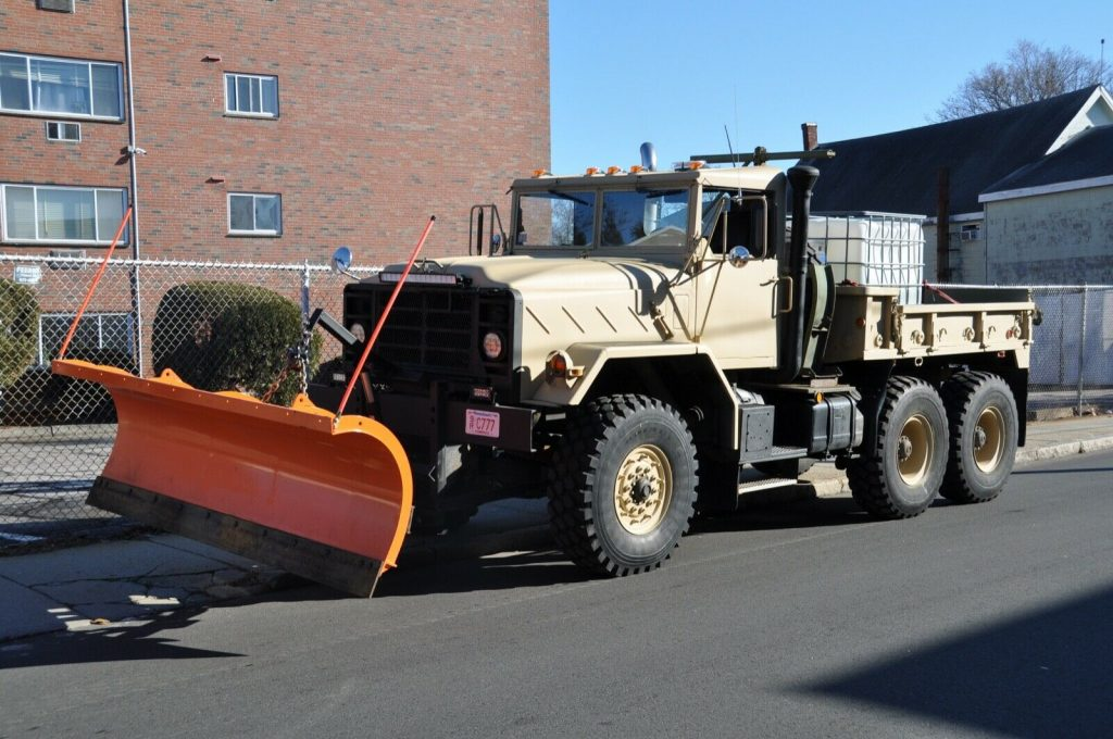 upgraded 1990 BMY 931a2 6X6 plow truck
